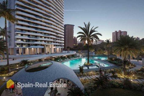 Apartment for sale in Benidorm, Alicante, Spain, 3 bedrooms, 129.32m2, No. 1309 – photo 1