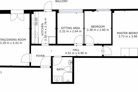 Apartment for sale in Madrid, Spain, 3 bedrooms, 73.00m2, No. 1801 – photo 27