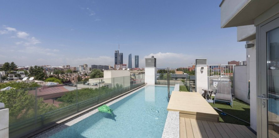 Penthouse in Madrid, Spain 4 bedrooms, 437.00 sq.m. No. 1528