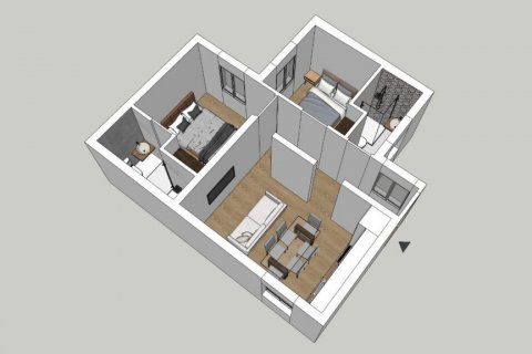 Apartment for sale in Madrid, Spain, 2 bedrooms, 52.00m2, No. 2298 – photo 29