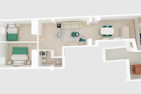 Apartment for sale in Madrid, Spain, 2 bedrooms, 75.00m2, No. 2645 – photo 5