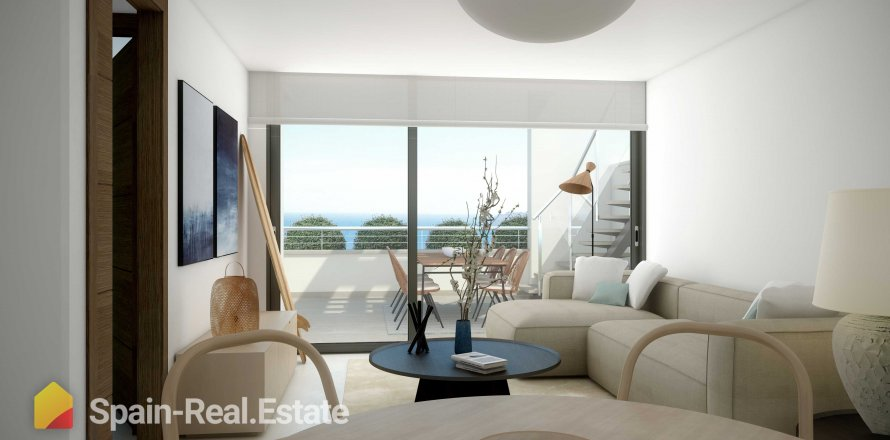 Apartment in Altea, Alicante, Spain 2 bedrooms, 63.05 sq.m. No. 1284