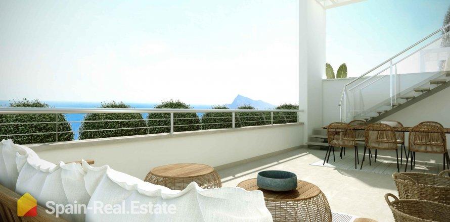 Apartment in Altea, Alicante, Spain 2 bedrooms, 63.05 sq.m. No. 1285
