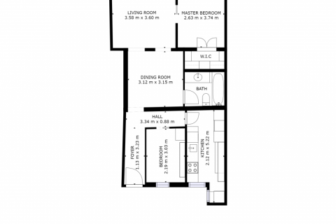 Apartment for sale in Madrid, Spain, 2 bedrooms, 68.00m2, No. 2384 – photo 25